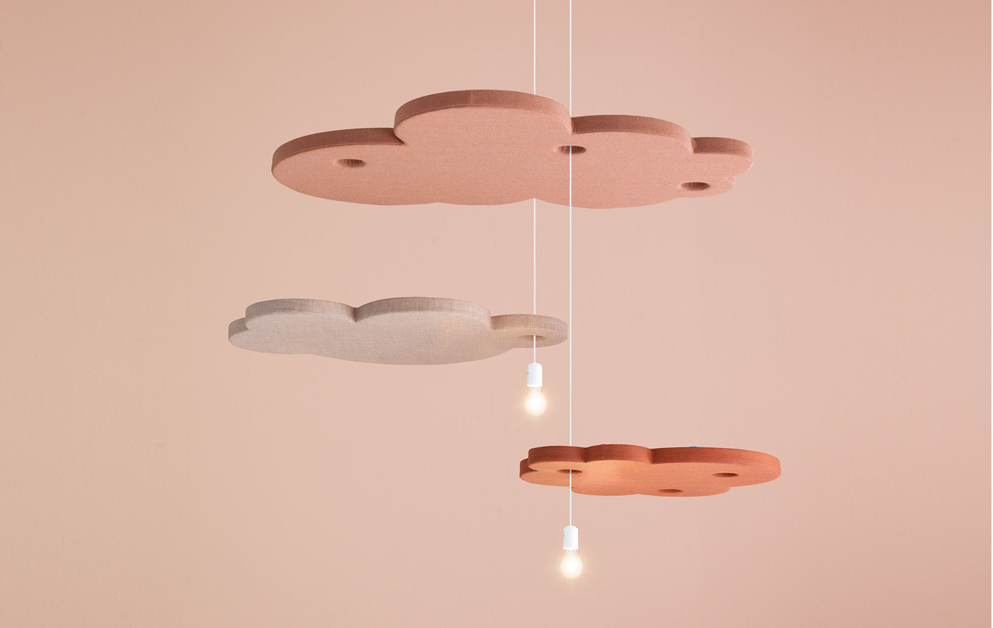 interactive doug striking cloud ceiling bulbs light world travels from in a installation wong the made canada